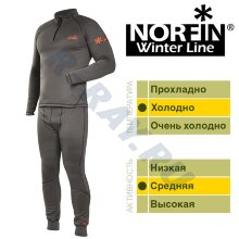 Термобельё 3036001-S Winter Line Gray   Norfin