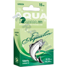 Пл. шнур Aqualon Dark-green.0,10 мм   15 м