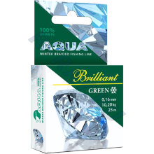 Пл. шнур Green Brilliant 0,10 мм   25 м