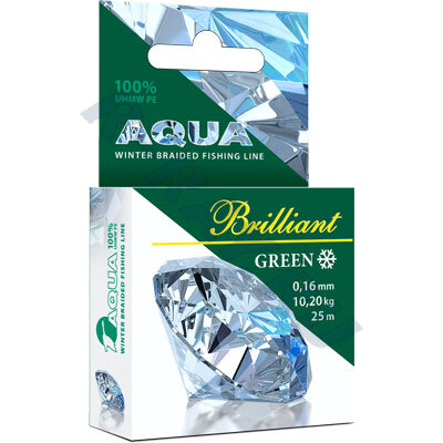 Пл. шнур Green Brilliant 0,14 мм   25 м
