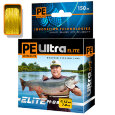 Пл. шнур PE Ultra Elite M-8 Yellow 0,18 мм   150 м