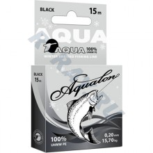 Пл. шнур Aqualon Black 0,12 мм   10 м