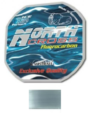 Леска Fluorocarbon North Cross 0,08  30м. (уп. 10шт.)