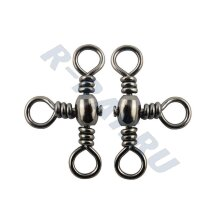 BARREL CROSS-LINE SWIVEL № 8 (BLN), 5 шт/уп